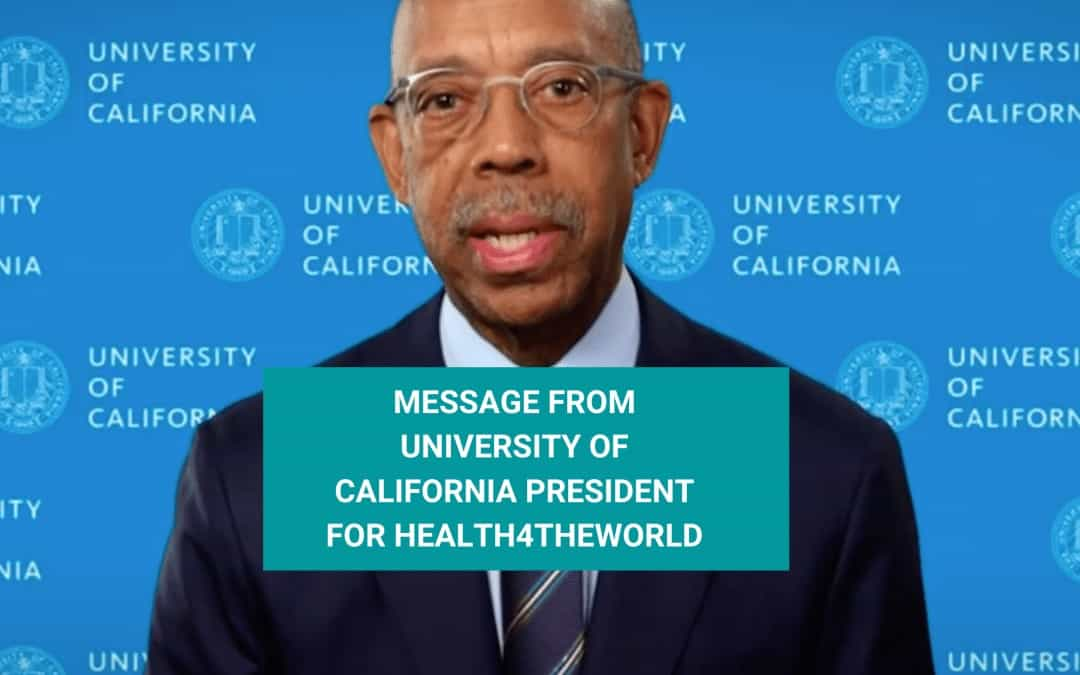 Message from president of University of California